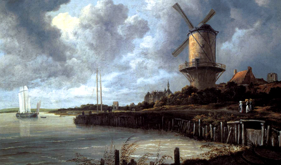 Jacob van Ruisdael - Windmill at Wijk