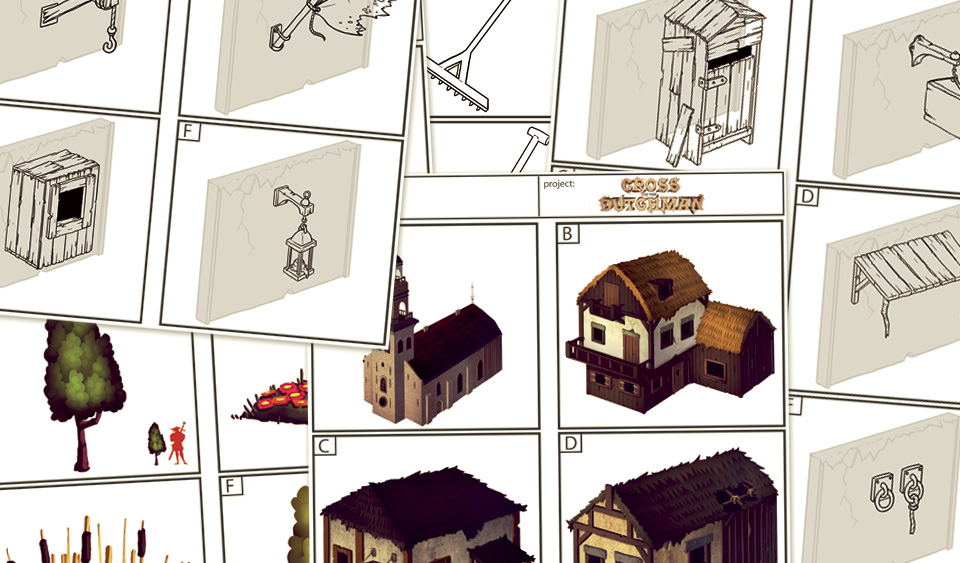 village asset sheets