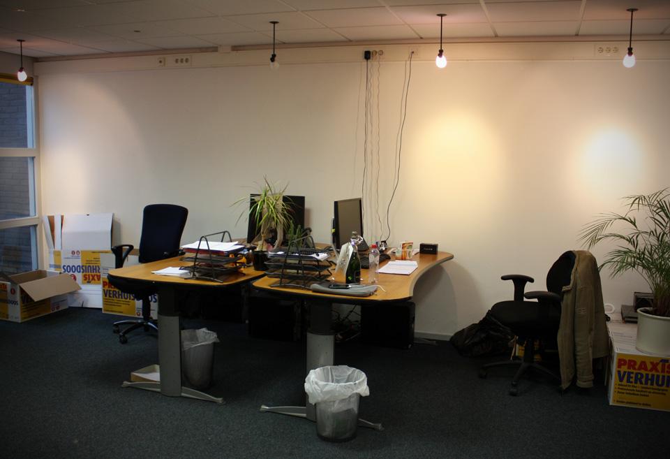 Desks of Remco and Timen