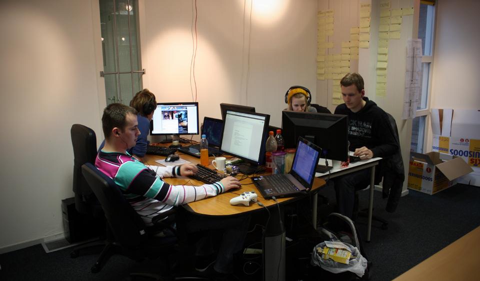 Our four interns
