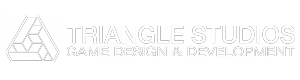 Triangle Studios logo white