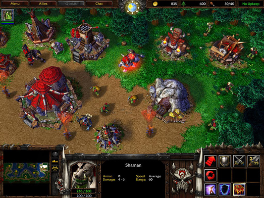 Warcraft 3 Screenshot