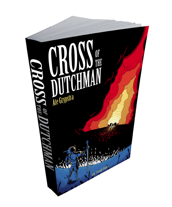 Cross of the Dutchman novel mockup