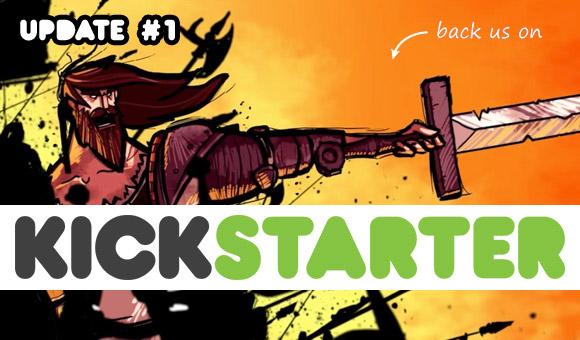 Kickstarter update #1