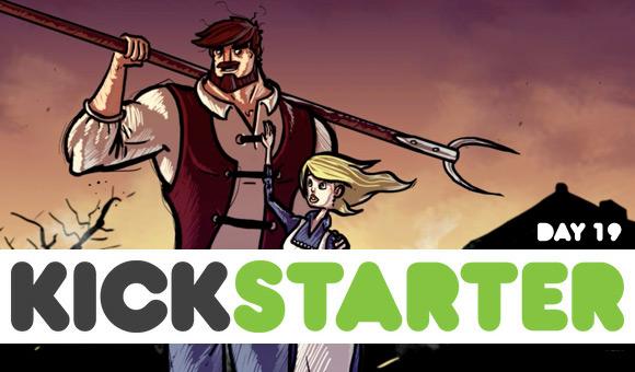 Kickstarter report: day 19