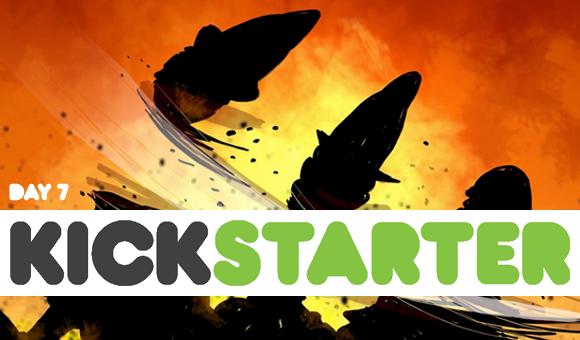 Kickstarter report: day 7