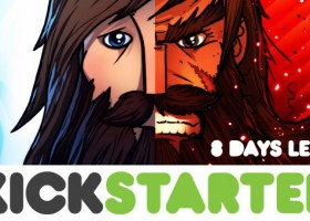 Cross of the Dutchman Kickstarter countdown: 8 days left