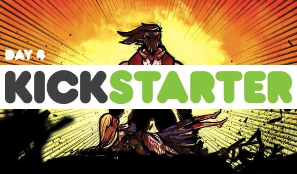 kickstarter report: day 4